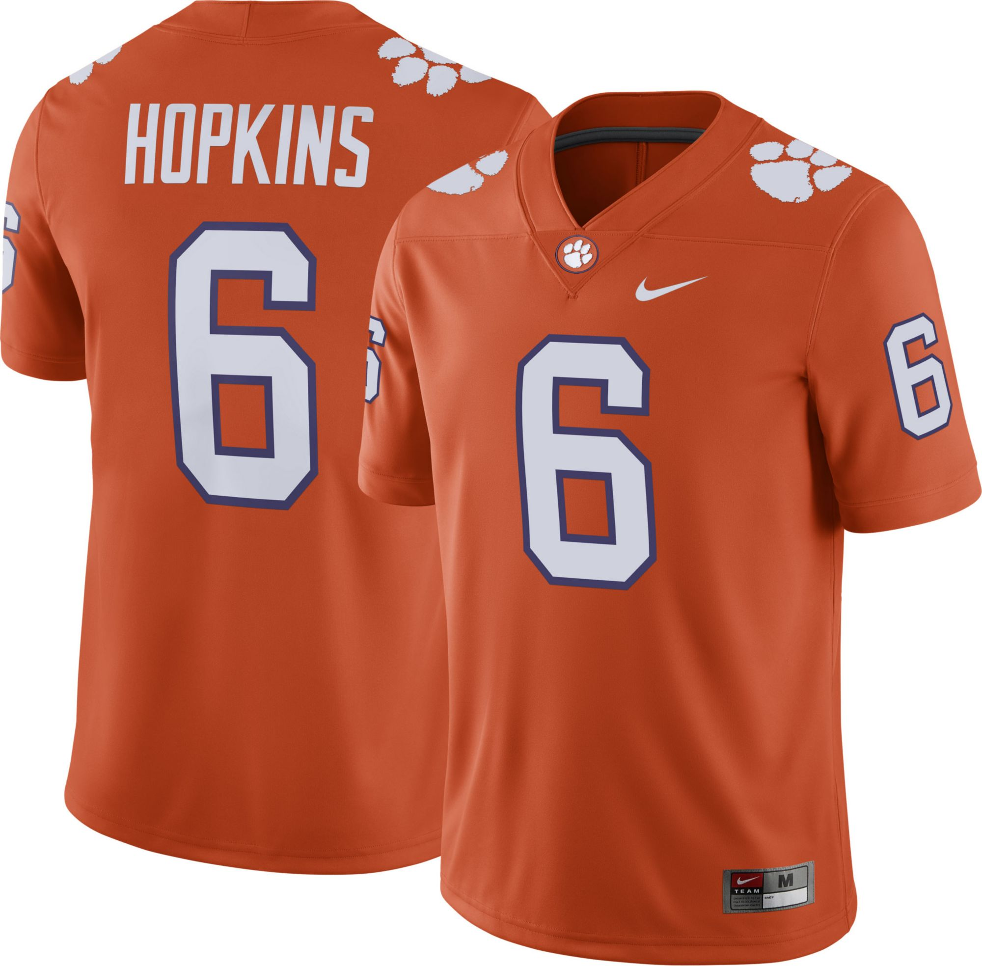 deandre hopkins signed clemson jersey