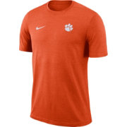 Nike Men's Clemson Tigers Orange Coach Football T-Shirt