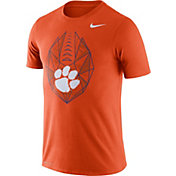 Nike Men's Clemson Tigers Orange Dri-FIT Football Icon T-Shirt