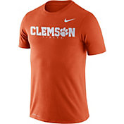 Nike Men's Clemson Tigers Orange Football Dri-FIT Facility T-Shirt