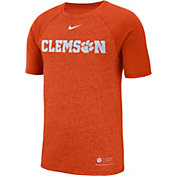 Nike Men's Clemson Tigers Orange Raglan Sideline T-Shirt