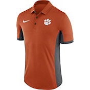 Nike Men's Clemson Tigers Orange Evergreen Performance Polo