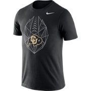 Nike Men's Colorado Buffaloes Black Dri-FIT Football Icon T-Shirt