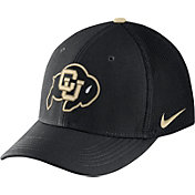 Nike Men's Colorado Buffaloes Black Aerobill Swoosh Flex Classic99 Hat