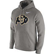 Nike Men's Colorado Buffaloes Grey Club Hoodie