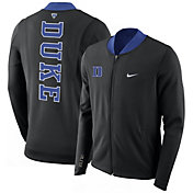 Nike Men's Duke Blue Devils Showtime Basketball Black Full-Zip Jacket
