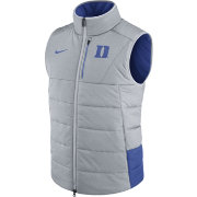 Nike Men's Duke Blue Devils Grey/Duke Blue Football Sideline Vest