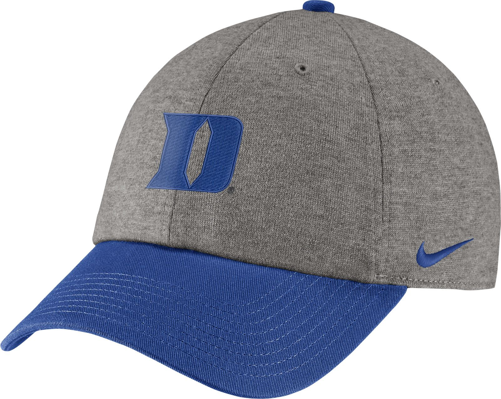 watch df2d2 af3a4 ... coupon code nike mens duke blue devils grey duke blue heritage86  heather adjustable hat 86713 720c4