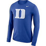 Nike Men's Duke Blue Devils Duke Blue Dri-FIT Logo Long Sleeve Shirt