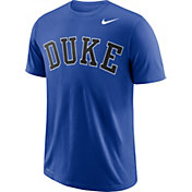 Nike Men's Duke Blue Devils Duke Blue Wordmark T-Shirt