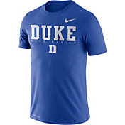 Nike Men's Duke Blue Devils Duke Blue Football Dri-FIT Facility T-Shirt