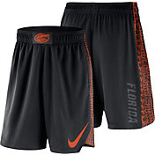 Nike Men's Florida Gators PHK Elite Basketball Black Shorts
