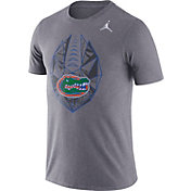 Jordan Men's Florida Gators Grey Dri-FIT Football Icon T-Shirt