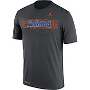 Jordan Men's Florida Gators Grey Football Sideline Legend T-Shirt