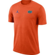 Jordan Men's Florida Gators Orange Coach Football T-Shirt