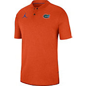 Jordan Men's Florida Gators Orange Elite Football Sideline Polo