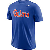 Nike Men's Florida Gators Blue Wordmark T-Shirt