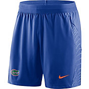 Nike Men's Florida Gators Blue Fly Knit Football Shorts