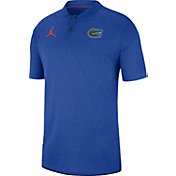 Jordan Men's Florida Gators Blue Elite Football Sideline Polo