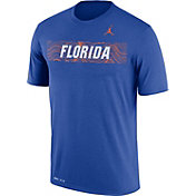 Jordan Men's Florida Gators Blue Football Sideline Legend T-Shirt