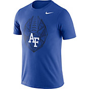 Nike Men's Air Force Falcons Blue Dri-FIT Football Icon T-Shirt