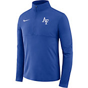 Nike Men's Air Force Falcons Blue Core Half-Zip Shirt