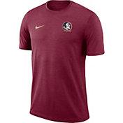 Nike Men's Florida State Seminoles Garnet Coach Football T-Shirt
