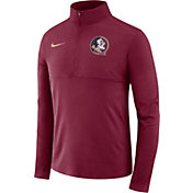 Nike Men's Florida State Seminoles Garnet Core Half-Zip Shirt