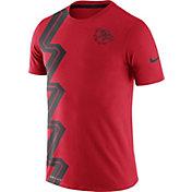 Nike Men's Gonzaga Bulldogs Red PHK Disrupt Dri-FIT T-Shirt