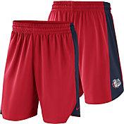 Nike Men's Gonzaga Bulldogs Red Basketball Practice Shorts