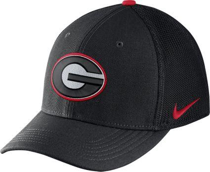 Nike Men s Georgia Bulldogs Black Aerobill Swoosh Flex Classic99 Hat.  noImageFound. 1   1 65a8a3b80e8c