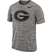 Nike Men's Georgia Bulldogs Charcoal Football Dri-FIT Travel T-Shirt