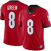 Nike Men's A. J. Green Georgia Bulldogs #8 Red Replica College Alumni Jersey