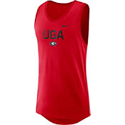 Nike Men's Georgia Bulldogs Red Modern Dri-FIT Tank