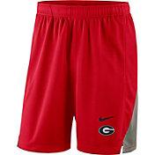 Nike Men's Georgia Bulldogs Red Franchise Shorts