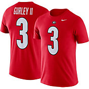 Nike Men's Georgia Bulldogs Todd Gurley #3 Red Future Star Replica Football Jersey T-Shirt
