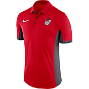 Nike Men's Georgia Bulldogs Red Evergreen Vault Performance Polo