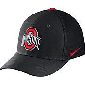 Nike Men's Ohio State Buckeyes Black Aerobill Swoosh Flex Classic99 Hat