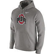 Nike Men's Ohio State Buckeyes Gray Club Fleece Hoodie