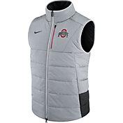 Nike Men's Ohio State Buckeyes Football Sideline Gray/Black Vest