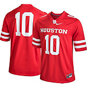 Nike Men's Houston Cougars #10 Red Game Football Jersey