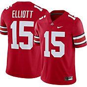 Nike Men's Ezekiel Elliott Ohio State Buckeyes #15 Scarlet Replica College Alumni Jersey