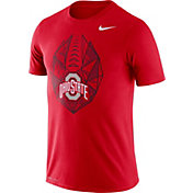 Nike Men's Ohio State Buckeyes Scarlet Dri-FIT Football Icon T-Shirt