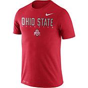 Nike Men's Ohio State Buckeyes Scarlet Football Dri-FIT Facility T-Shirt