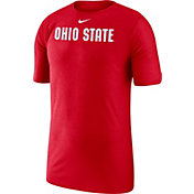 Nike Men's Ohio State Buckeyes Scarlet Football Dri-FIT Player T-Shirt