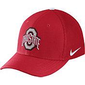 Nike Men's Ohio State Buckeyes Scarlet Aerobill Swoosh Flex Classic99 Hat