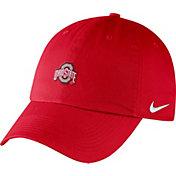 Nike Men's Ohio State Buckeyes Scarlet Heritage86 Small Logo Adjustable Hat