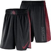 Nike Men's Oklahoma Sooners PHK Elite Basketball Black Shorts