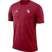 Jordan Men's Oklahoma Sooners Crimson Coach Football T-Shirt