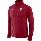 Nike Men's Oklahoma Sooners Crimson Core Half-Zip Shirt